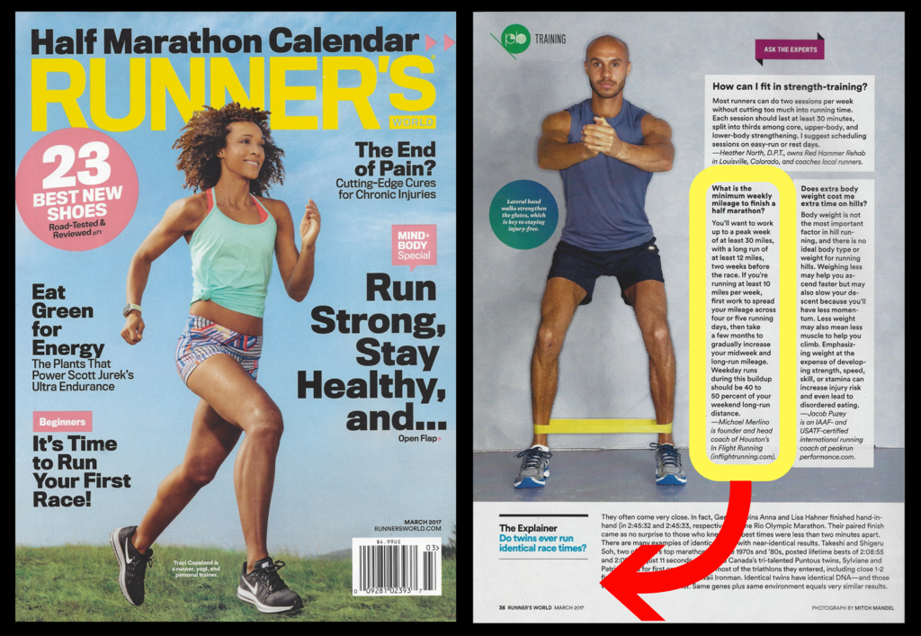 runners world march 2017