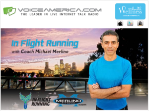 in flight running radio show podcast